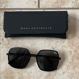 Quay Australia Accessories - Quay X Finders Keepers Black Sunglasses